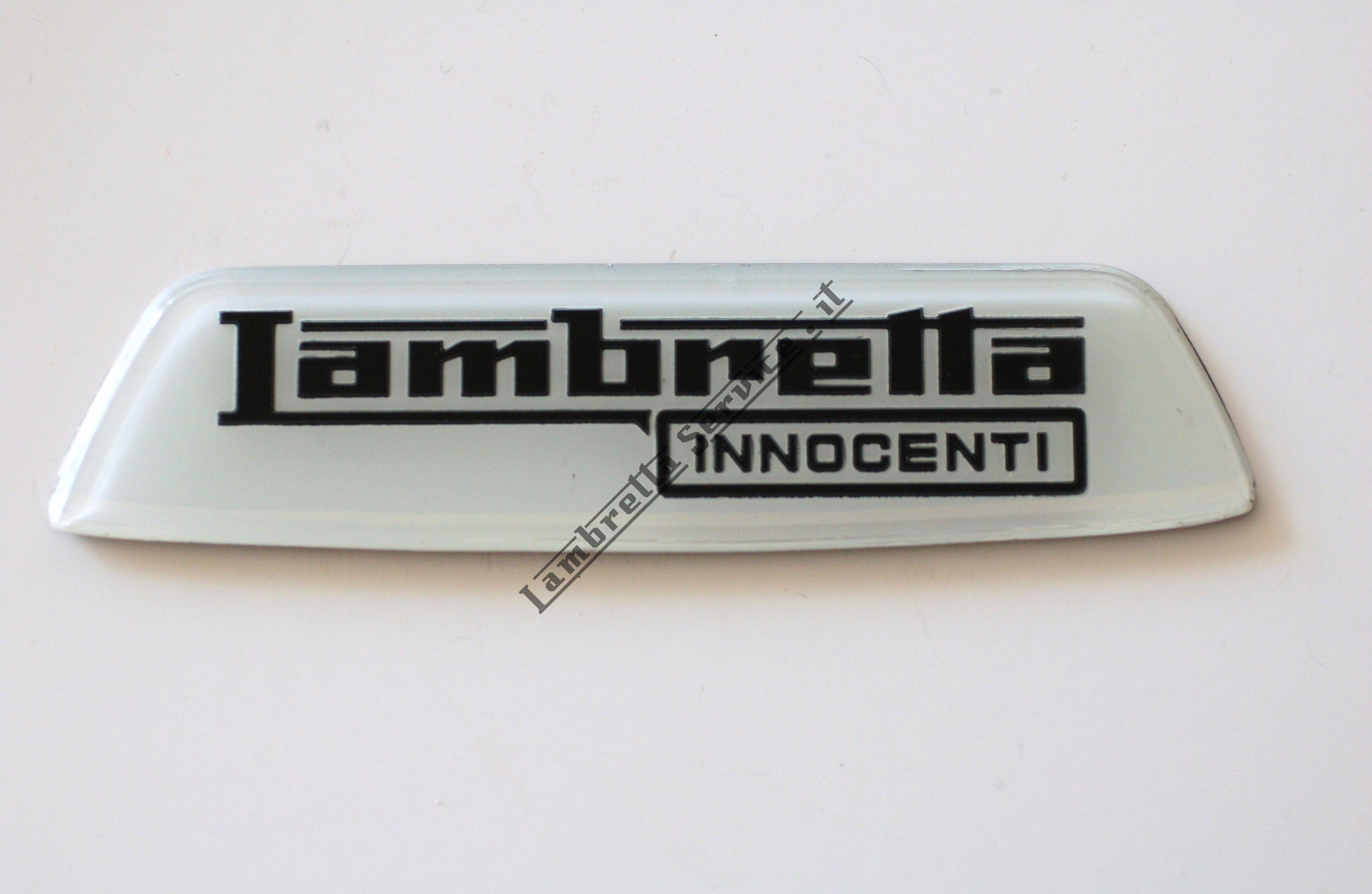 """Foto del prodotto - Targhetta """"Innocenti"""" DISPONIBILE IN NOVEMBRE"""
