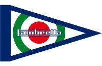 Foto prodotto Bandierina Lambretta  cerchio tricolore