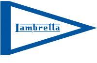 Foto prodotto Bandierina Lambretta  blu